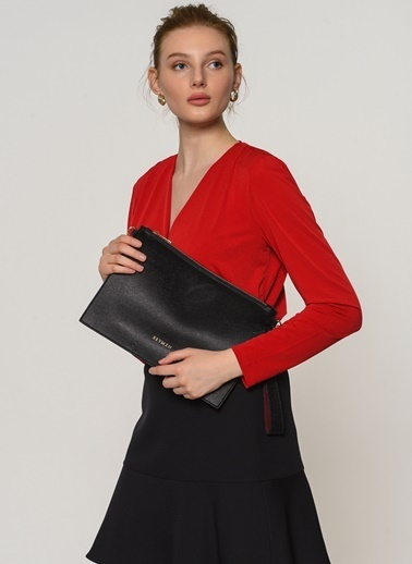 Beymen Kadın Kırmızı El Çantası & Clucth 101624988 Siyah